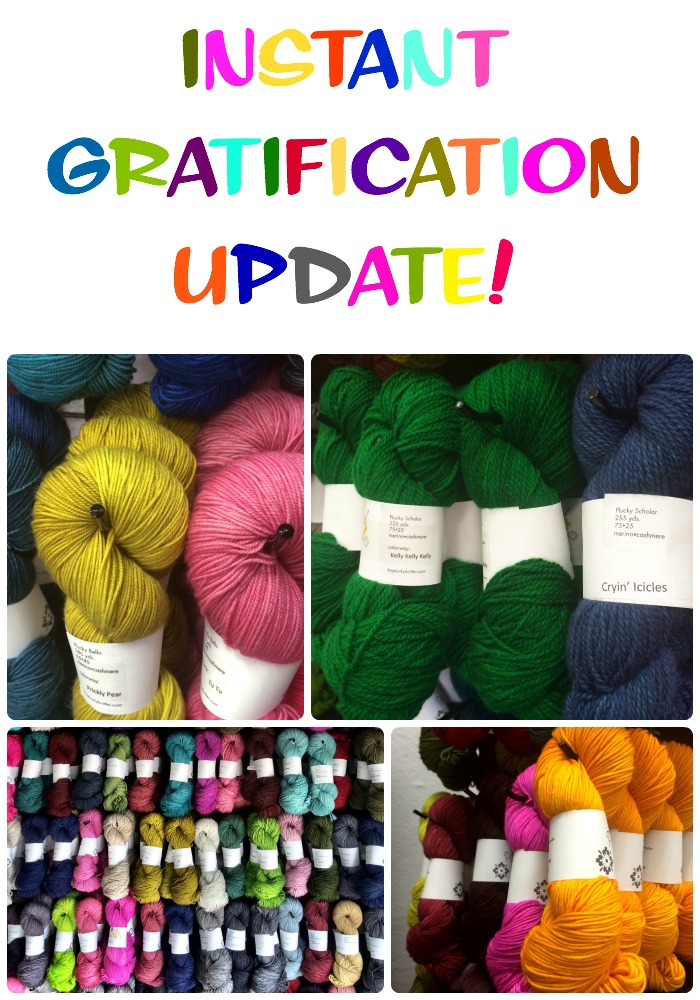 Instant Gratification Update