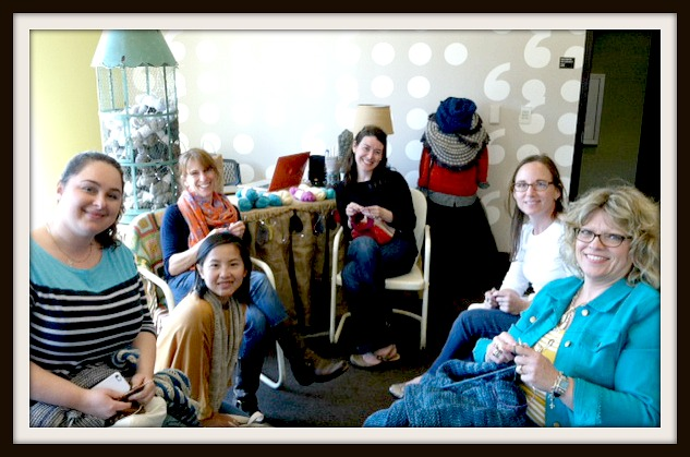 retreat knitters