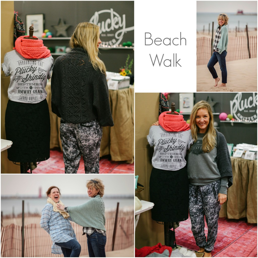 Beach Walk Collage