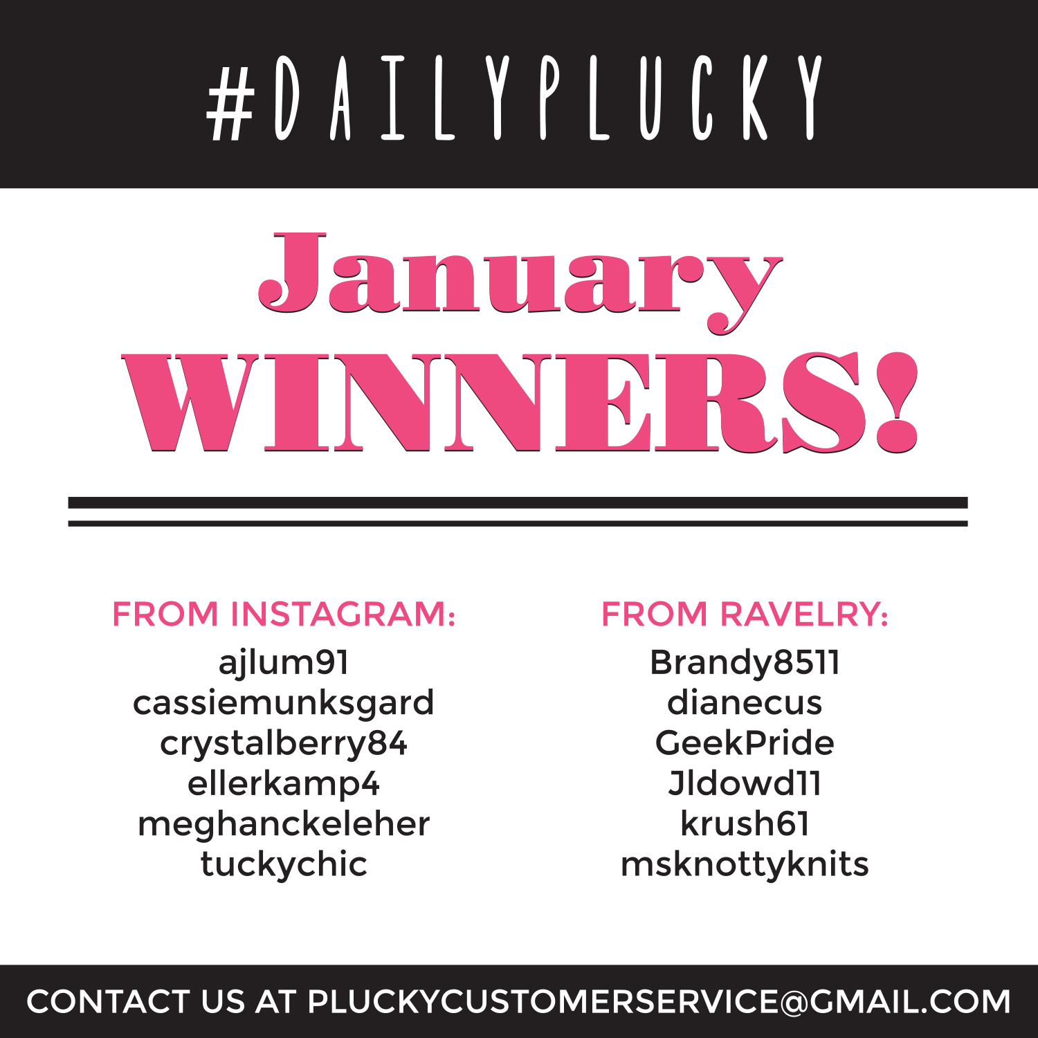 DailyPlucky-Winners-January2017